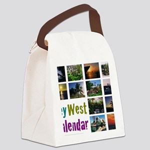 11.5x9at254CalendarCover Canvas Lunch Bag