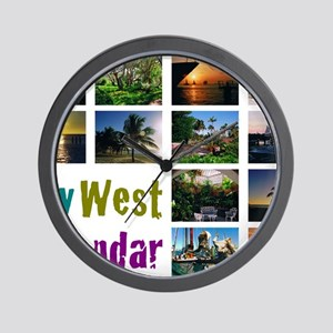 11.5x9at254CalendarCover Wall Clock