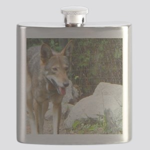 Red Wolf Flask