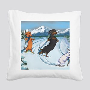 xcountrymp Square Canvas Pillow