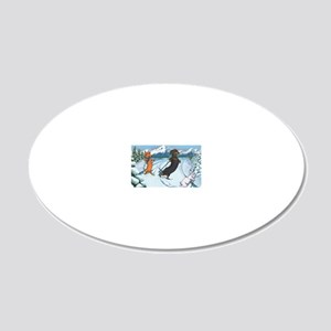 xcountrymp 20x12 Oval Wall Decal