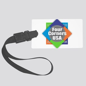 Four Corners Large Luggage Tag
