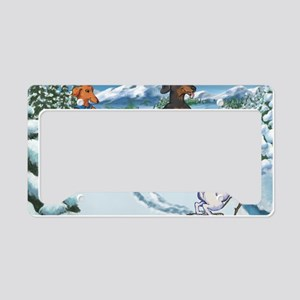 xcountry23x35 License Plate Holder