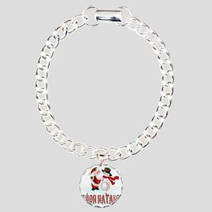 buon natale c Charm Bracelet, One Charm