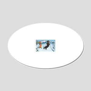 xcountryiphone 20x12 Oval Wall Decal
