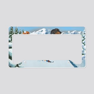 xcountryiphone License Plate Holder