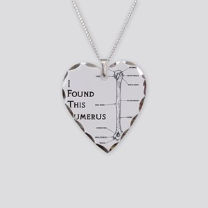 I found this humerus Necklace Heart Charm
