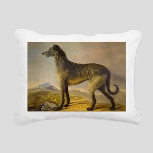 DeehoundCard2 Rectangular Canvas Pillow