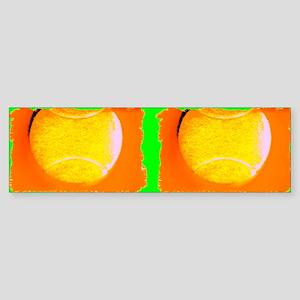 flip flops tennis green2 Sticker (Bumper)