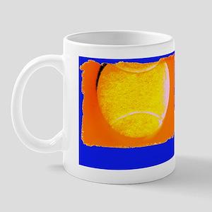 flip flops tennis blue Mug