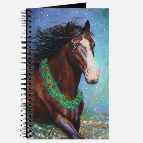 Jingle Bell Horse Journal