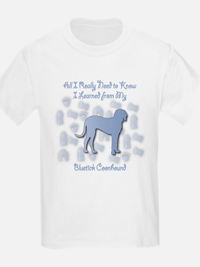 Learned Bluetick Kids T-Shirt