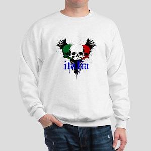 italia skull Sweatshirt