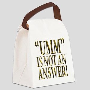 Umm Canvas Lunch Bag