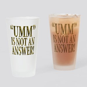 Umm Drinking Glass