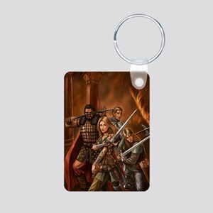 leo reuters fin without te Aluminum Photo Keychain