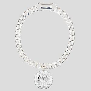 6291_lab_cartoon Charm Bracelet, One Charm
