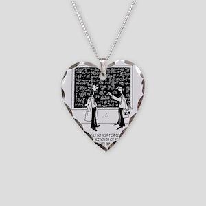5994_chemistry_cartoon Necklace Heart Charm