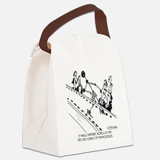 8558_model_cartoon Canvas Lunch Bag