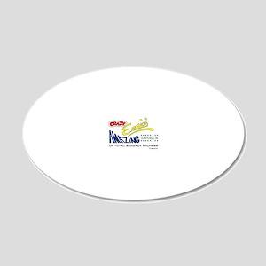 Crazy Ernies Amazon Emporium 20x12 Oval Wall Decal