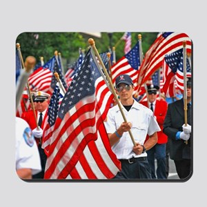 Flags on Parade Mousepad