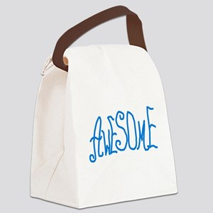 AWESOMEGRAMMIEBL Canvas Lunch Bag