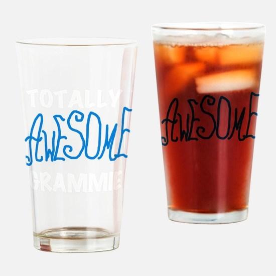 AWESOMEGRAMMIEBL Drinking Glass