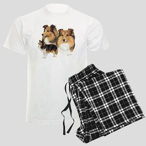Sheltie Multi Men's Light Pajamas