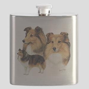 Sheltie Multi Flask