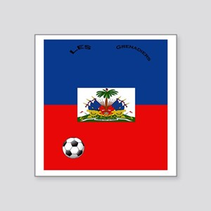 "haiti copy Square Sticker 3"" x 3"""