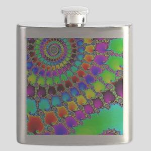 Fractal Hook Rug Flask