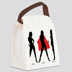 ThreeRealHos Canvas Lunch Bag