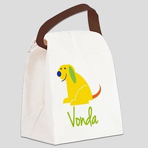 Vonda-loves-puppies Canvas Lunch Bag