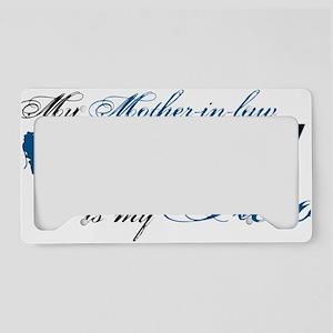 mother law License Plate Holder