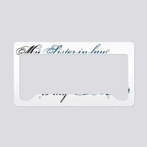 sis law License Plate Holder