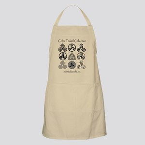 Celtic Triskel Collection Dark Apron