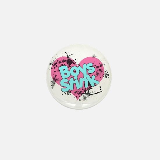 Boys Stink Mini Button