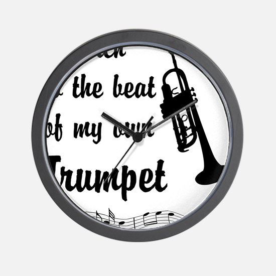 MarchTrumpet Wall Clock