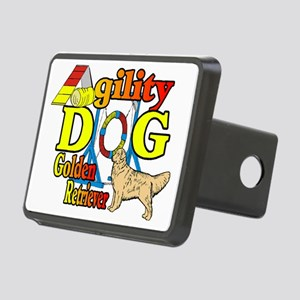 golden agility f Rectangular Hitch Cover