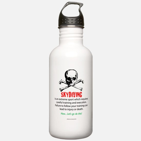 Skydiving Training Water Bottle