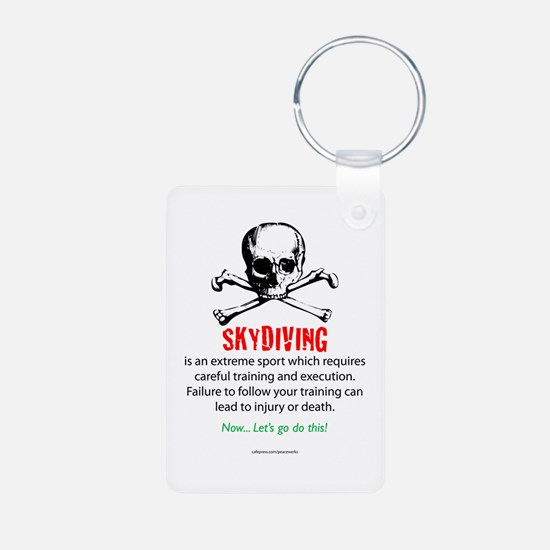 Skydiving Training Keychains