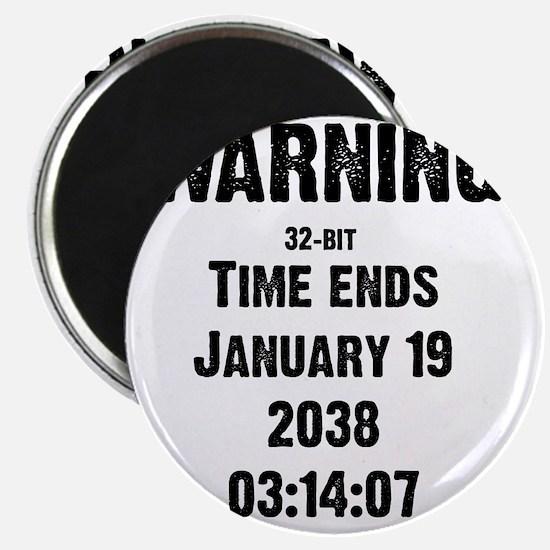 time-ends-1-blackLetters copy Magnet