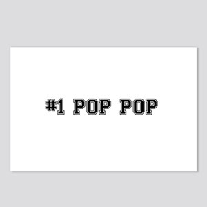 #1 Pop pop Postcards (Package of 8)