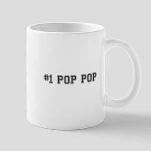 #1 Pop pop Mugs