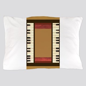 Piano Keys Music 3x5 art Pillow Case