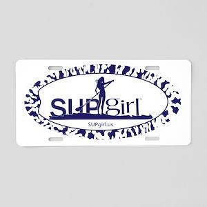 SUPGIRL Aluminum License Plate
