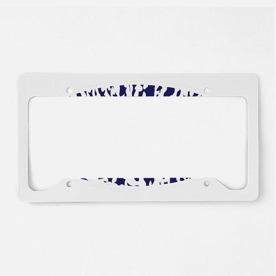 SUPGIRL License Plate Holder