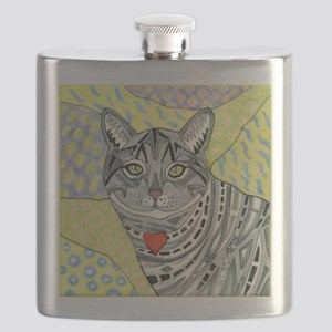 cat-gray-tabby-heart-colors-1-5.25 Flask