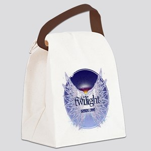 breaking dawn with wings and hori Canvas Lunch Bag
