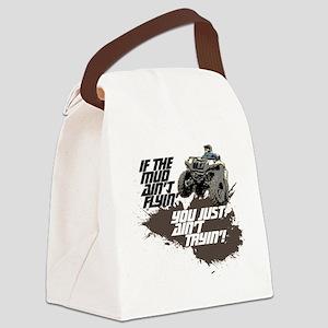 muddin atv Canvas Lunch Bag